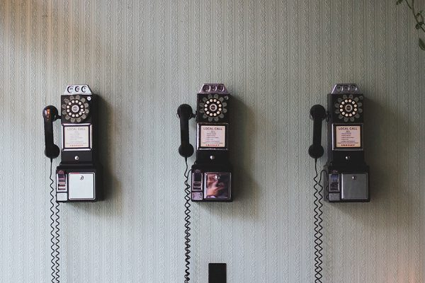 Telephone in rooms