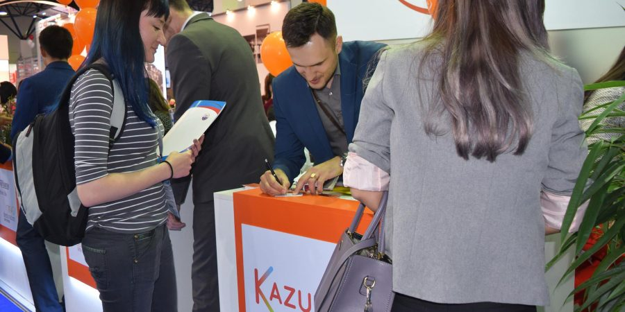 "Visiting The International Tourist Exhibition ""Kitf"" in Kazakhstan"