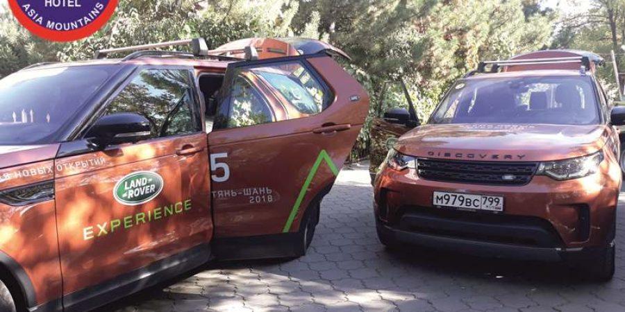 Серия внедорожников Land Rover Discovery в Отеле Горы Азии 1